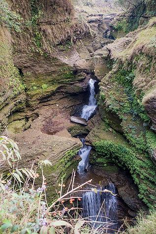 Davis water falls, Pokhara, Nepal