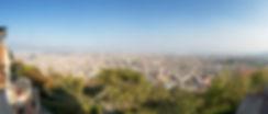 View of Kathmandu Valley from Swayambhunath Temple, Kathmandu, Nepal
