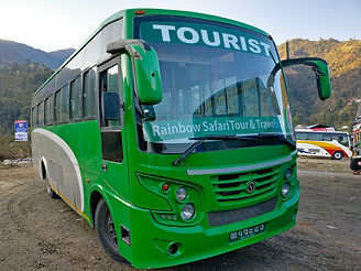 Rainbow Safari Tour Bus from Kathmandu to Sauraha, Nepal