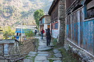 From Paudwar to Tatopani, Annapurna-Dhaulagiri Community Trail, Nepal