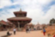 Durbar Square after the earthquake, Bhaktapur, Nepal