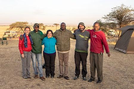 I Dream of Africa Team with Shots and Tales | Serengeti Dik Dik Campsite | Tanzania