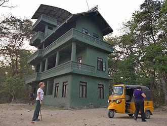 Night tower watch at Sauraha, Nepal