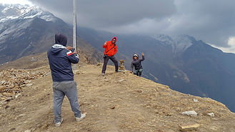 Khopra Danda Community Lodge, Annapurna-Dhaulagiri Community Trail, Nepal