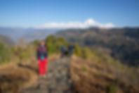Trekking from Nangi to Mohare Danda, Annapurna-Dhaulagiri Community Trail, Nepal