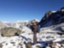 Angkami Sherpa, Mountain Guide taking Photo, Nepal