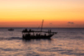 Nungwi Beach | Zanzibar | Tanzania | Traditional Boats | Sunset | Shots and Tales