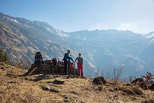 From Dhan Kharka to Khopra Danda, Annapurna-Dhaulagiri Community Trail, Nepal