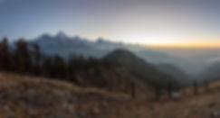 Sunrise from Mohare Danda, Annapurna-Dhaulagiri Community Trail, Nepal