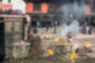 Nepal, Kathmandu, Pashupatinath Temple, Cremation Ceremony