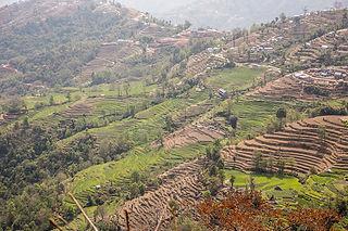 Nagarkot fields and landscape, Nepal