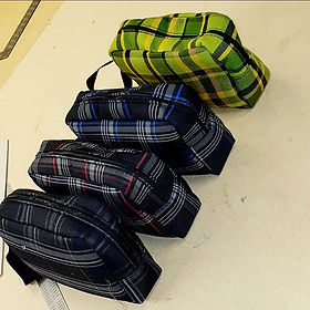 Something a little different, wash bags