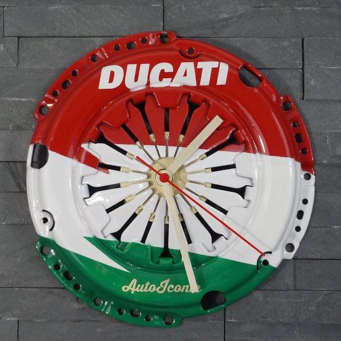 Ducati Tricolour Clock
