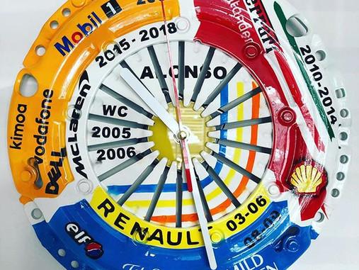 Alonso Tribute Clock