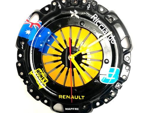 The New Ricciardo Tribute Clock