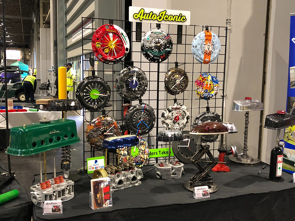 Classic Car Show Stand