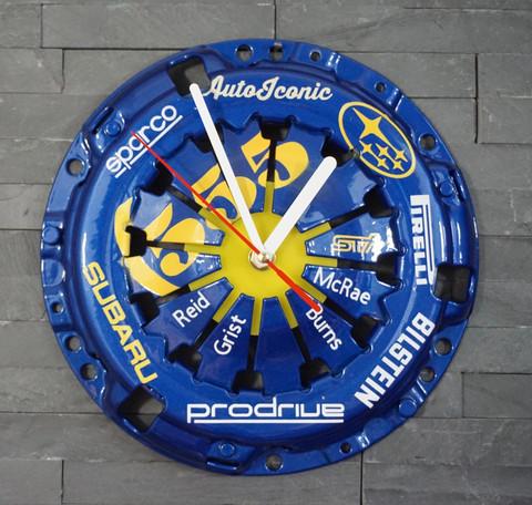 Subaru WRC Clock