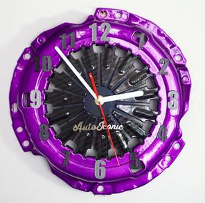 Metallic Purple Clock