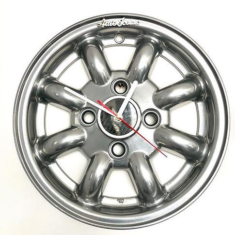 Minilite wheel clock _#art #cartparts #l