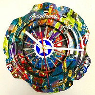One of two different Avengers clocks rea