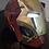Thumbnail: 3D printed Damaged Ironman helmet
