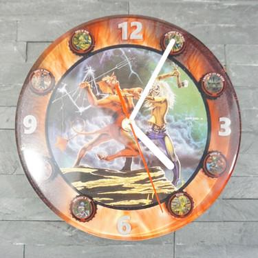 Iron Maiden Tribute Clock