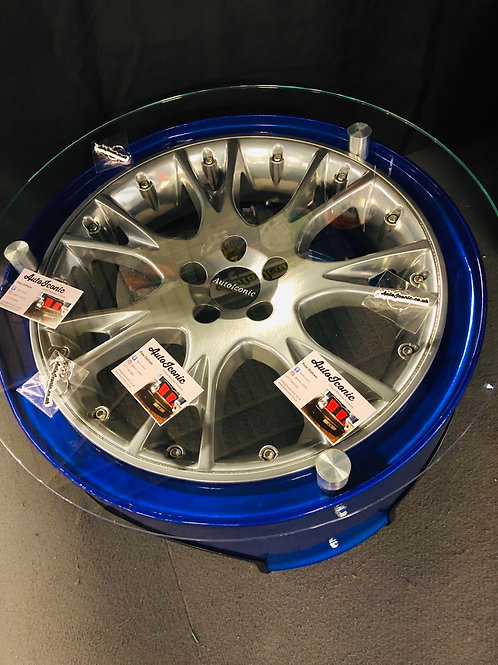 Alloy Wheel Drum Table