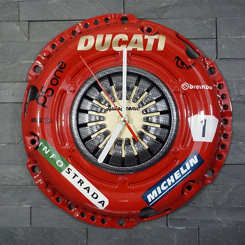 Ducati WSB tribute clock