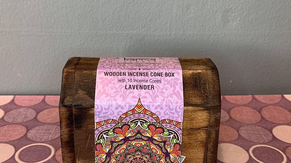 Incense Cone Box