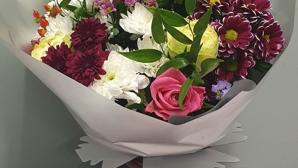 Pretty in Pink Boxed Bouquet