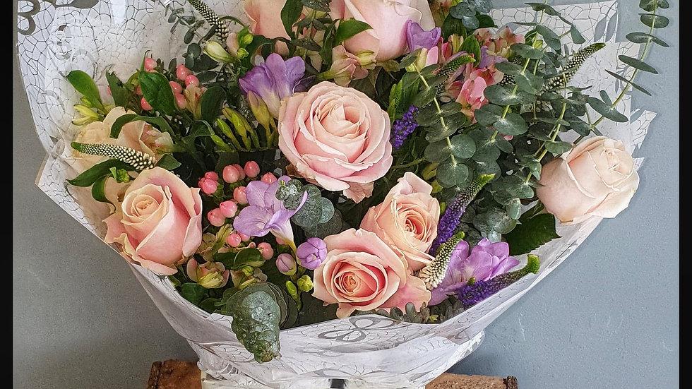 Pink Lace Bouquet