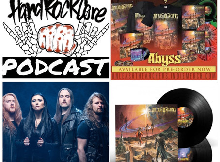 THE HARDROCKCORE PODCAST Episode 24 with BRITTNEY SLAYES of UNLEASH THE ARCHERS