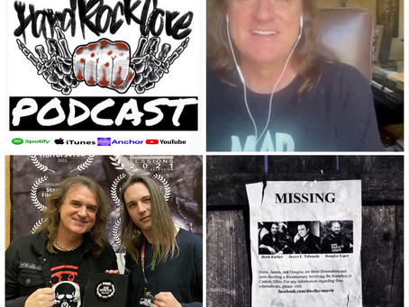 THE HARDROCKCORE PODCAST Episode 45 with DAVID ELLEFSON (MEGADETH) talking about his movie company