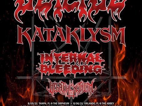 KATAKLYSM to tour with DEICIDE