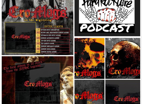 THE HARDROCKCORE PODCAST Episode 13 with HARLEY FLANAGAN of the legendary NYHC, CRO-MAGS