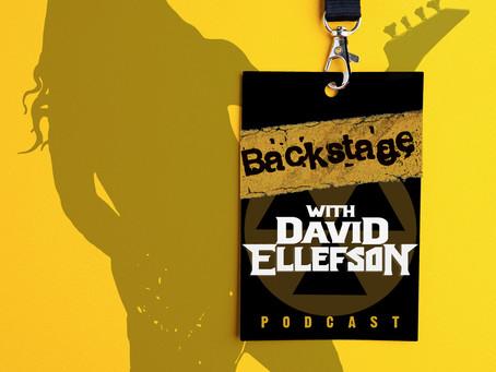 DAVID ELLEFSON announces his own podcast