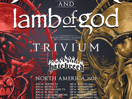 HATEBREED to join MEGADETH / LAMB OF GOD / TRIVIUM tour