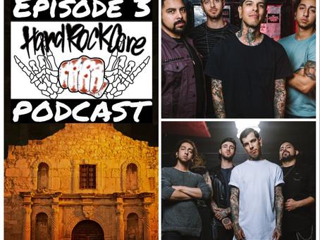 Now On YouTube - THE HARDROCKCORE PODCAST Episode 3 featuring RUBEN ALVAREZ of UPON A BURNING BODY