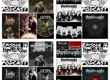 THE HARDROCKCORE PODCAST Episode 16 with LUCIFER and ONSLAUGHT