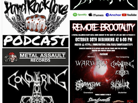 THE HARDROCKCORE PODCAST Episode 34 on REMOTE BROOTALITY (livestream)