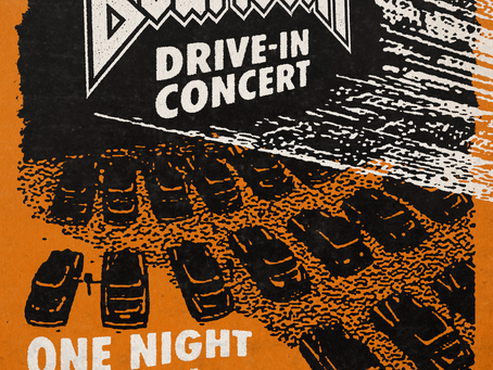 At the drive in with BEARTOOTH
