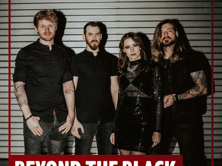 BEYOND THE BLACK covers IRON MAIDEN