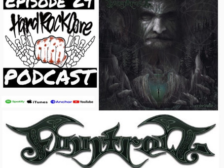 THE HARDROCKCORE PODCAST Episode 29 with vocalist VRETH of FINNTROLL