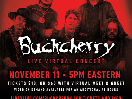 BUCKCHERRY live stream