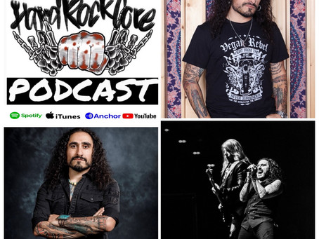 THE HARDROCKCORE PODCAST Episode 37 with ALESSANDRO DEL VECCHIO