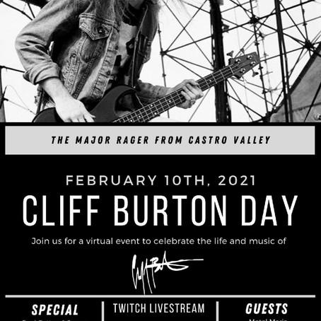 CLIFF BURTON DAY
