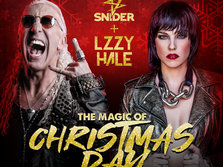 DEE SNIDER and LZZY HALE team up for a Christmas song