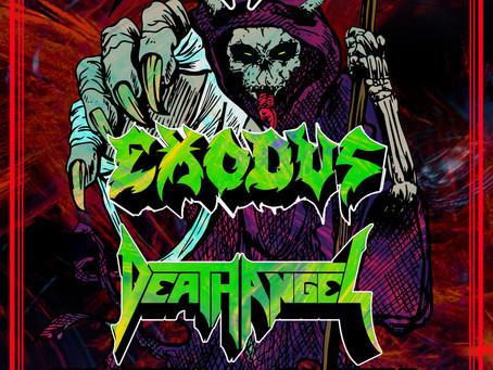 TESTAMENT - EXODUS - DEATH ANGEL