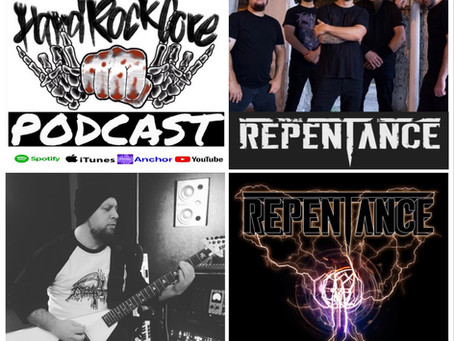 THE HARDROCKCORE PODCAST Episode 57 with SHAUN GLASS of REPENTANCE