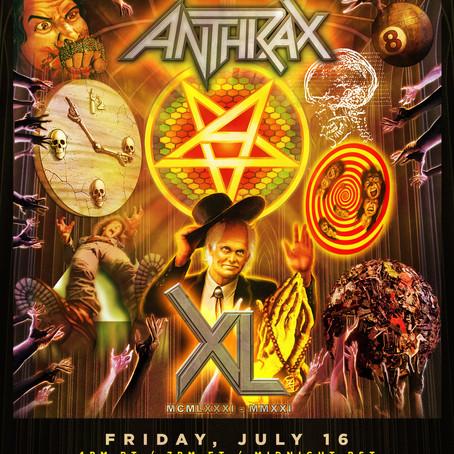 ANTHRAX 40 Year Anniversary Live Stream
